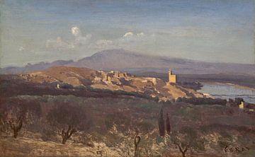Villeneuve-les-Avignon, Jean-Baptiste-Camille Corot van