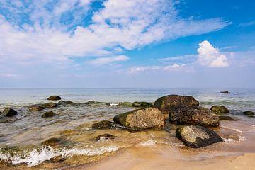 Die Ostseeküste auf der Insel Rügen van Rico Ködder