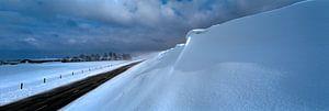 Sneeuw duin van