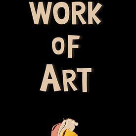 Work of Art sur Marja van den Hurk