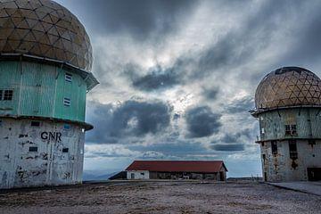 Oud NAVO Radarstation Torre van Daan Duvillier