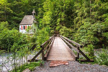 Blick auf die St Johann und Paul Kapelle im Berchtesgadener Land von Rico Ködder