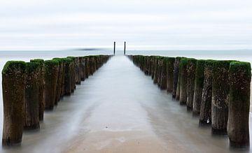 Paaltjes naar de zee sur