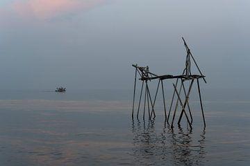 Angelgerüst in der Türkei von Daan Kloeg