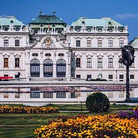 Wenen - Belvedère Paleis van Alexander Voss