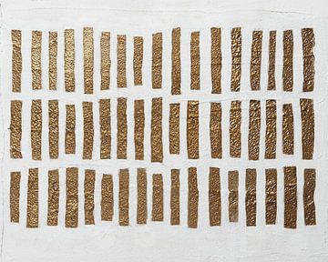 Goldene Stadt, abstrakt von Joske Kempink