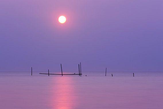 Sereen moment bij de strand van Rockanje van Ardi Mulder