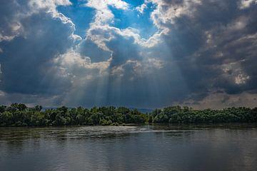 Flusslandschaft von Heinz Grates