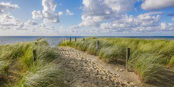 Strand, Meer und Sonne im Sommer von Dirk van Egmond