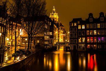 Amsterdam Oudezijds voorburgwal van Ahilya Elbers