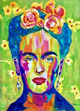 Frida van Kathleen Artist Fine Art