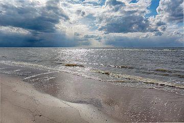 Egmond aan Zee Blick auf die Nordsee von Ronald Smits