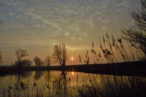 sfeervolle zonsopkomst