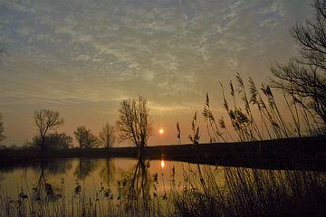 sfeervolle zonsopkomst van