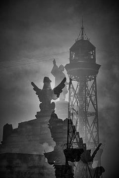 Barcelona landmarks von Peter van Mierlo