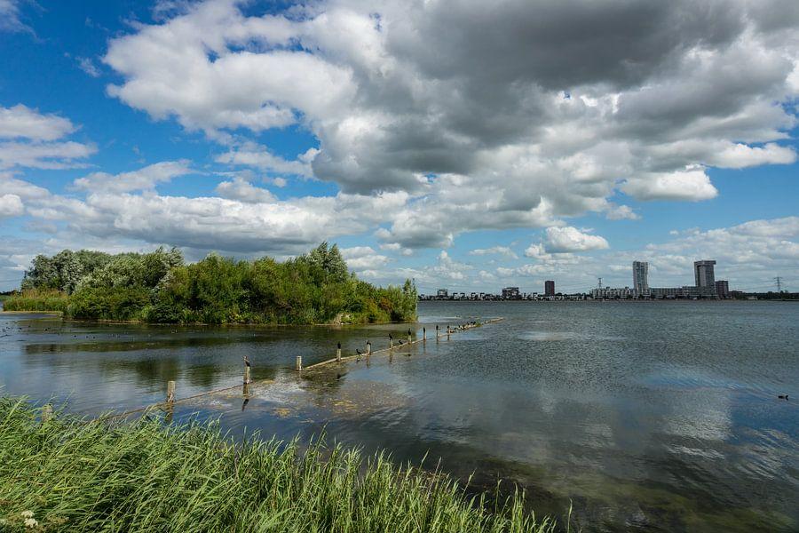 Zevenhuizerplas en Nesselande van Michel van Kooten