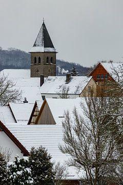 Der Kirchturm von Archfeld von Roland Brack