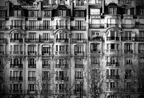 Paris Buildings van