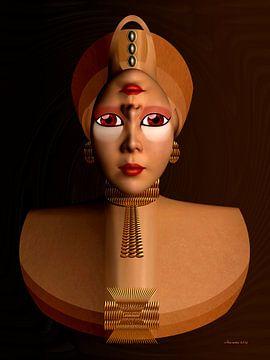De Gouden Koningin van Ton van Hummel (Alias HUVANTO)