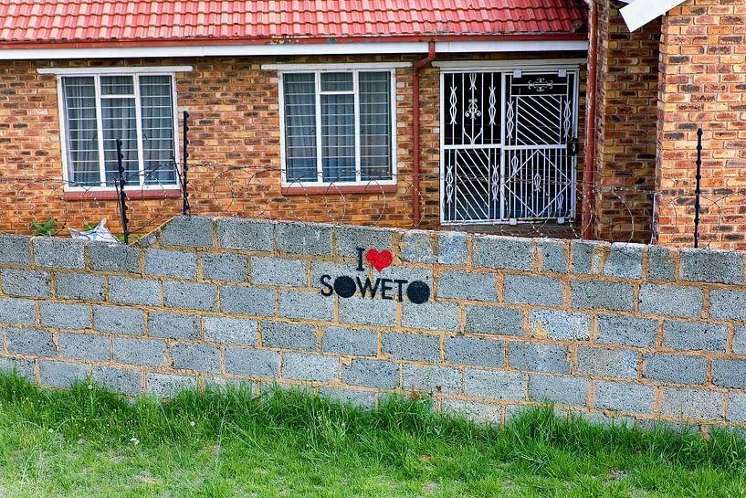 I love Soweto van Evert Jan Luchies