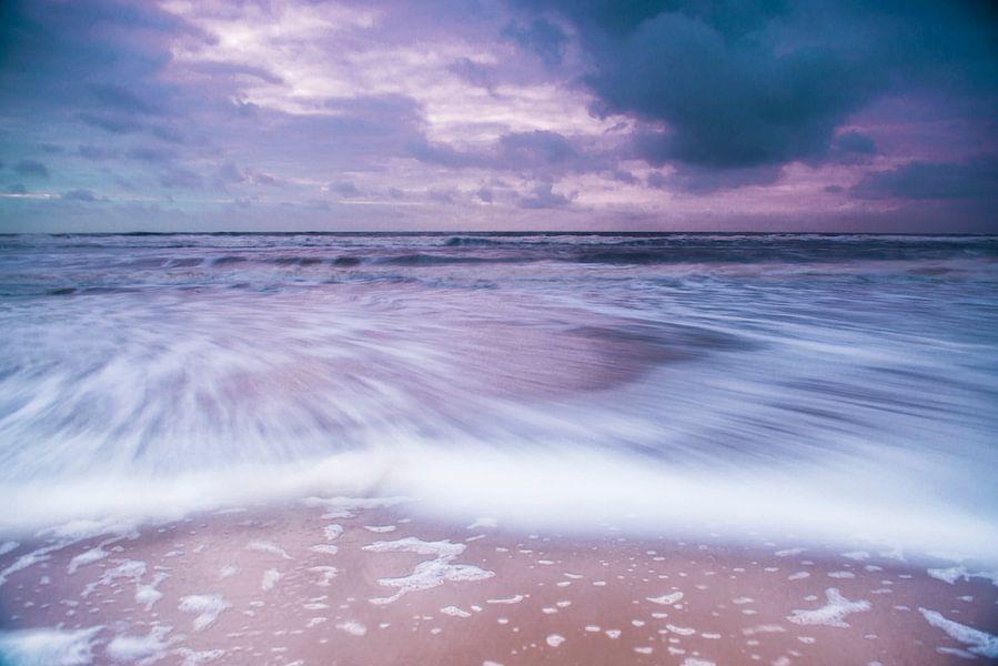 De zee in beweging