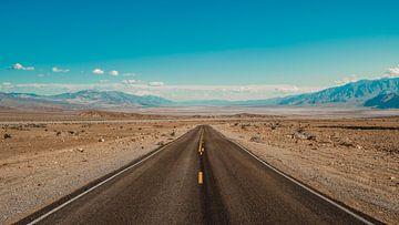 De weg naar Death Valley
