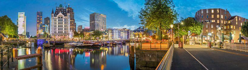 Oude haven Rotterdam van Sebastiaan Hollaar