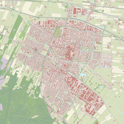 Kaart vanVeenendaal