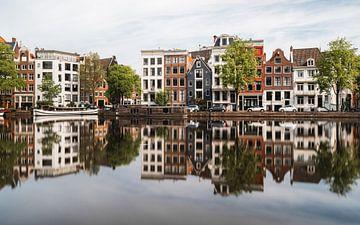 Häuser an der Amstel, Amsterdam von Lorena Cirstea