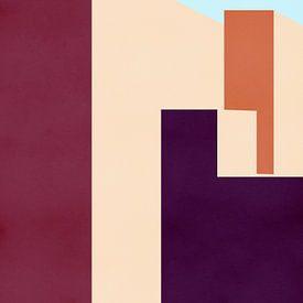 Buildings - Architectuur Print van MDRN HOME