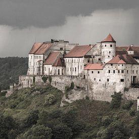 Burghausener Burg van Christine Nöhmeier
