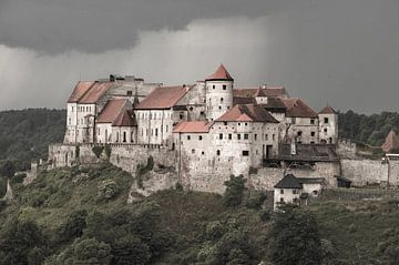 Burghausener Burg von Christine Nöhmeier