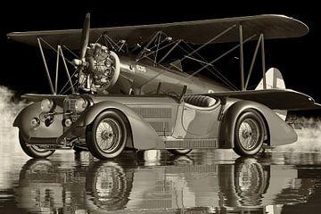 Mercedes SSK 710 - Une superbe voiture de sport de 1930