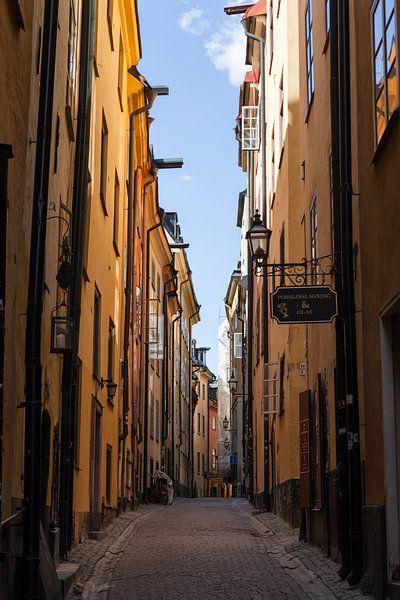 Gamla Stan - Stockholm - Zweden van Irene Hoekstra