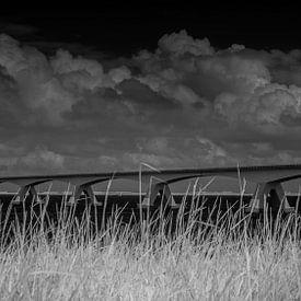 Zeelandbrug over de Oosterschelde van Ad Van Koppen