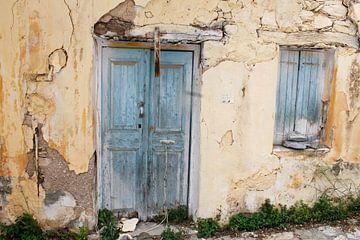 Alte Tür von Manon Kleijn