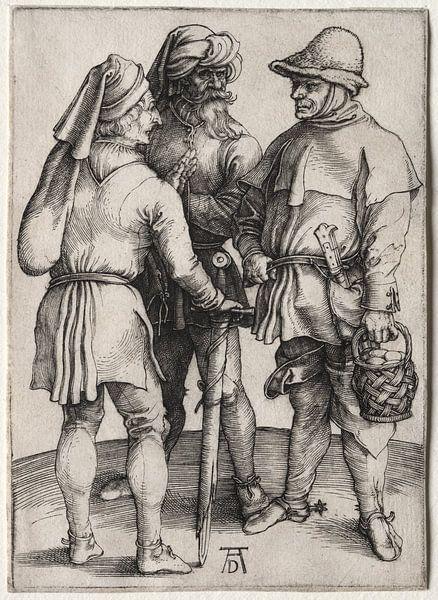 Drei Bauern im Gespräch, Albrecht Dürer von De Canon