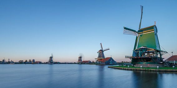 The Zaanse Schans Netherlands sur Menno Schaefer