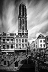 Domtoren en de Maartensbrug (Long exposure), Utrecht