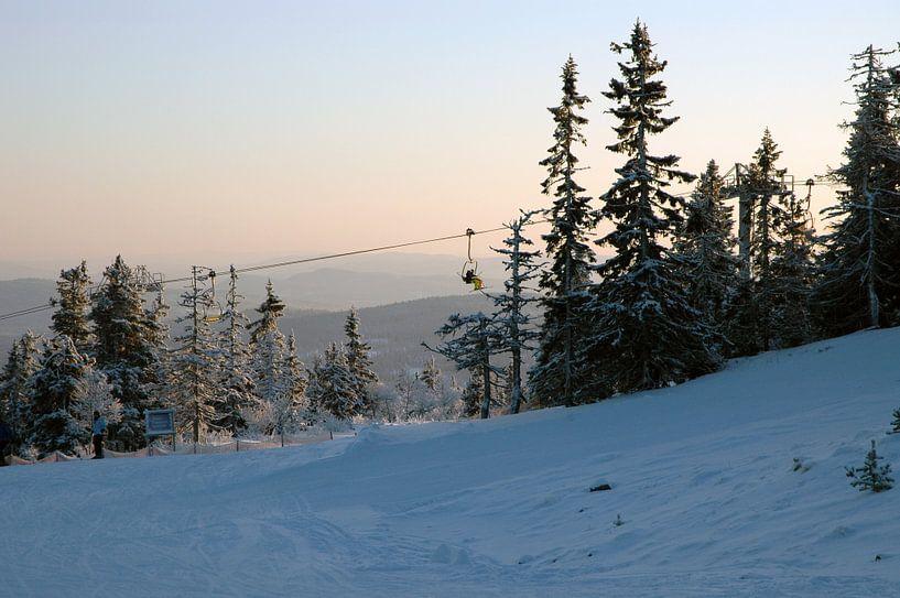 Skigebied Trysil van Barbara Koppe