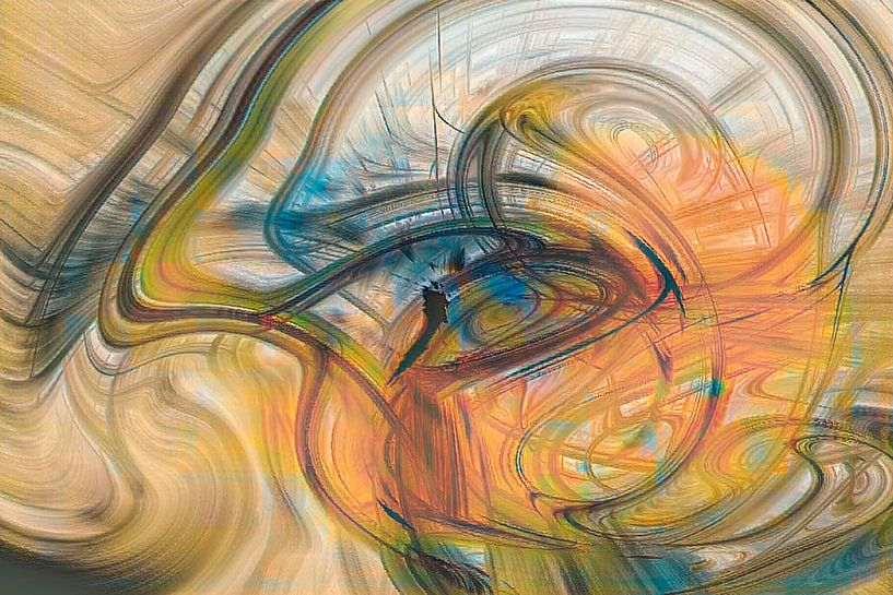 Digital abstract 21 van Leo Luijten