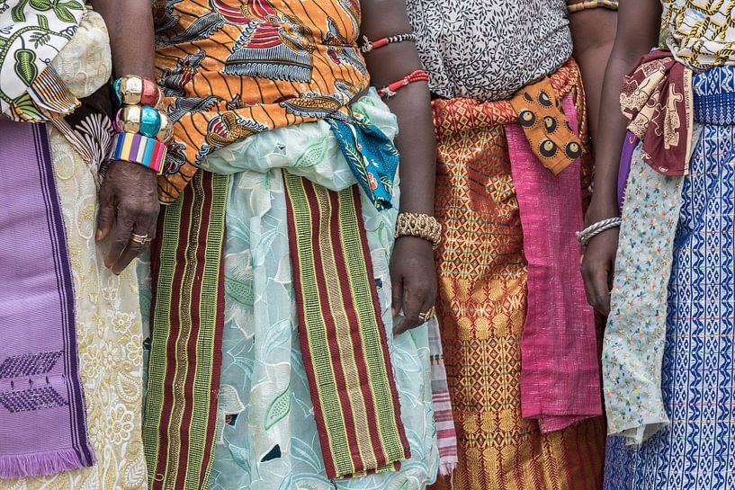 Kleurrijke parade van vrouwen in West-Afrika | Benin van Photolovers reisfotografie