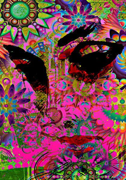 Flowerlady von PictureWork - Digital artist