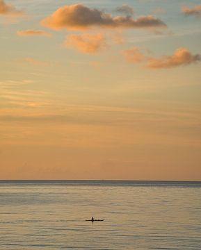 Tropical sunrise van Ubo Pakes