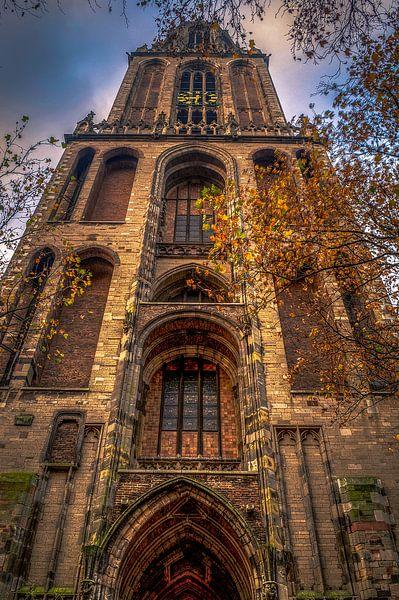 Domtoren in herfstsferen van Robin Pics (verliefd op Utrecht)