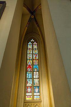 Kerkglas sur Willy Sybesma