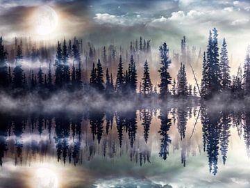 Mystischer See, Mystic Lake von Gabriella David