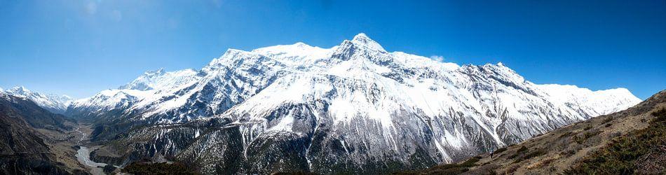 Panorama Himalaya in Nepal