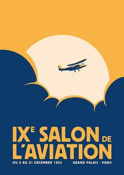 Salon de l'aviation (geel) van Rene Hamann