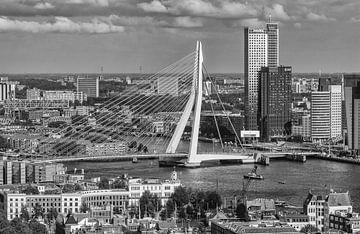 Rotterdam vanaf de Euromast von Ilya Korzelius